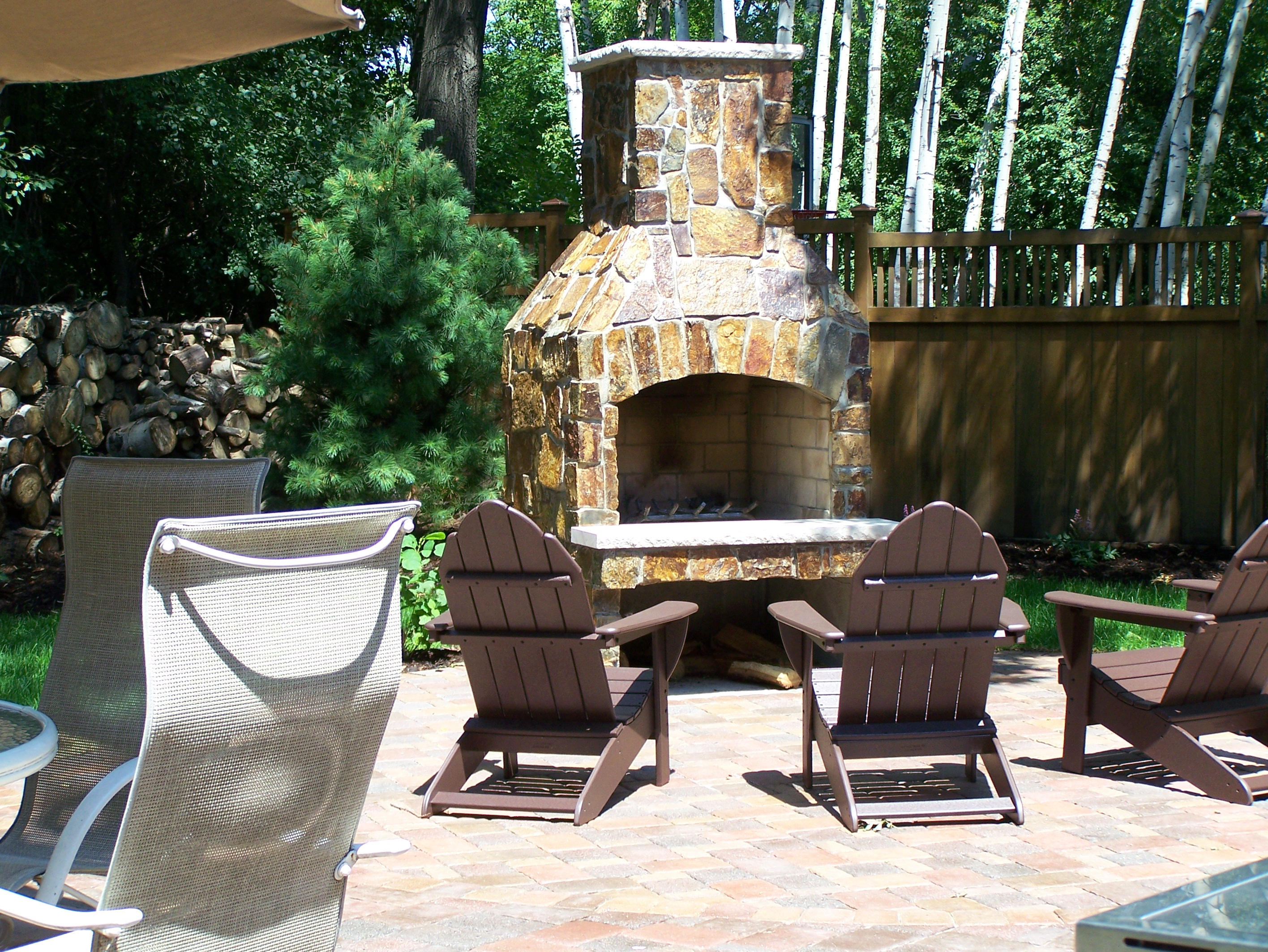Custom Outdoor Fireplaces And Fire Pits Great Goats LandscapingGreat Goats