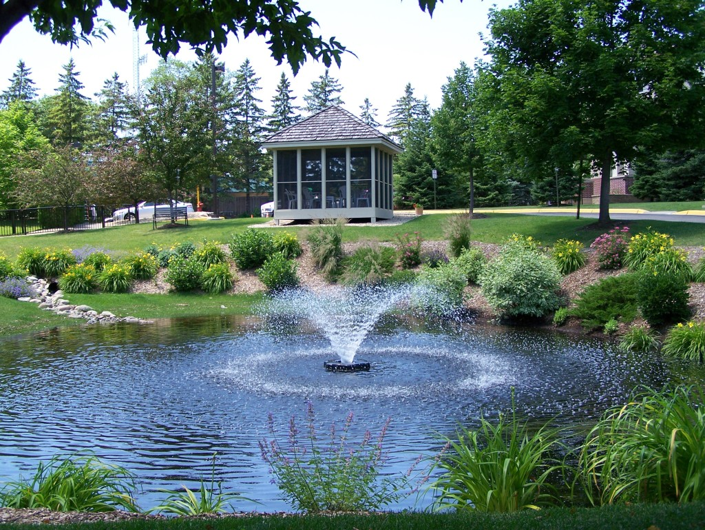 Water features archives great goats landscapinggreat for Best pond fountains