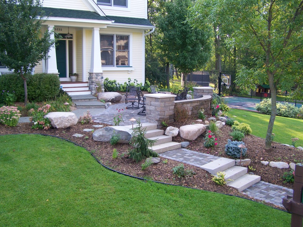 Beautiful Functional Retaining Walls
